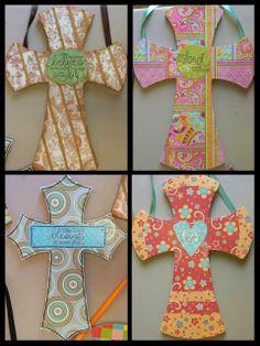 Great Easter Craft! Angela Anderson Art Blog: Mixed Media Crosses