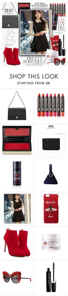 """""""YesStyle Polyvore Group """" Show us your YesStyle """""""" by vanjazivadinovic ❤ liked on Polyvore featuring Chanel, Kevyn Aucoin, Gucci, Dolce&Gabbana and Marc Jacobs"""