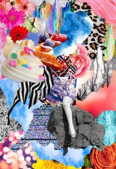 Battle line, Tyler Spangler, 2012 Tyler Spangler, Posca Art, Aesthetic Collage, Psychedelic Art, Grafik Design, Mellow Yellow, Wall Collage, Kitsch, Art Inspo