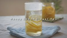 Honey Lemon Ginger Tea : 꿀레몬생강청 by kOzy - YouTube