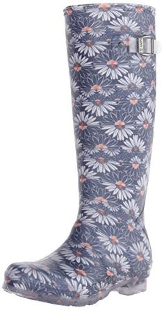Kamik Womens Daisies Rain Boot Navy 7 M US * Find out more about the great product at the image link.