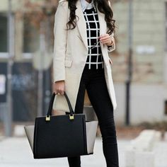 Delightful Winter Office Outfits Ideas That Are Nor Boring 56 # Casual Outfits oficina botas 50 Most Trendy Casual Work Outfits Every Women Should Own Winter Office Outfit, Summer Office Outfits, Stylish Winter Outfits, Casual Work Outfits, Work Casual, Outfit Office, Casual Office, Summer Outfit, Chanel Vestidos