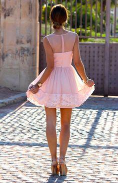 Kuka & Chic Light Pink Formal Dress