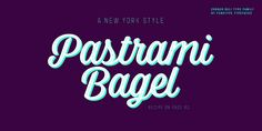 Corner Deli Font: Corner Deli is a layered script & sans pack inspired by American commercial sign culture. Corner Deli has three base fonts and four. Commercial Signs, Bagel Recipe, New York Style, East Side, Deli, Fonts, Desktop, Corner, Neon Signs