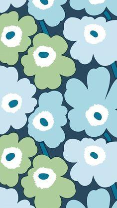 Cute Patterns Wallpaper, Cute Wallpaper Backgrounds, Pretty Wallpapers, Marimekko Wallpaper, Print Wallpaper, Flower Phone Wallpaper, Iphone Wallpaper, Artsy Background, Apple Wallpaper