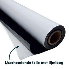 Ferro ijzerhoudende folie wordt gebruikt in combinatie met magneetfolie. Zo kun je makkelijk op elk oppervlakte magneetfolie kleven. Meer info? Kijk verder.