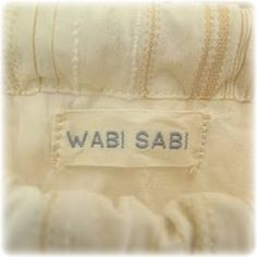 Wabi is humble and simple, and Sabi  is rusty and weathered
