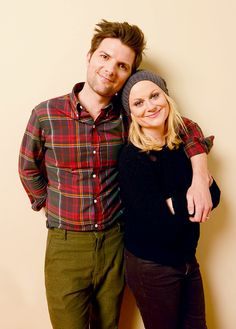 Adam Scott and Amy Poehler. Parks and Recreation.