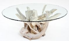 organic wood coffee table - Ocean Inspired