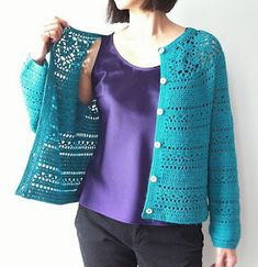 Irish crochet &: CROCHET JACKET