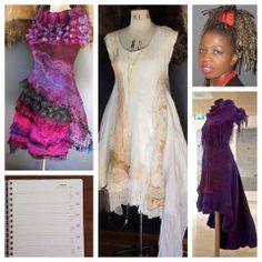 . Nuno Felting, Charity, Van, How To Wear, Dresses, Fashion, Vestidos, Moda, Gowns