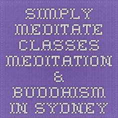 simply meditate classes - Meditation & Buddhism in Sydney