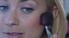 How to Apply Blush!   #mirrormirrortv