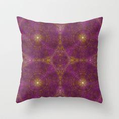 Pseudo Pompous Boudoir - India Pink Throw Pillow by Pseudo Pompous  - $20.00