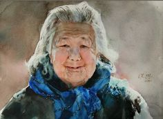 The Watercolour Log: More Portraits in Watercolour