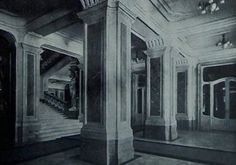 Budavári Palota - Előcsarnok és lépcső a főhercegi lakosztályokhoz Buda Castle, Hungary