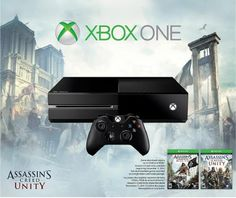 Xbox One Assassin's Creed Unity Bundle + $50 Best Buy Gift Card + Destiny Game $350 + Free Shipping