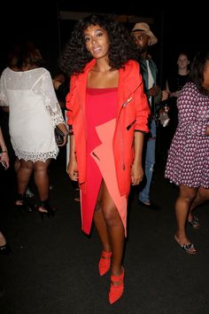 Solange Knowles Photos Photos - Singer Solange Knowles attends Prabal Garung at Lexus Design Disrupted at Skylight at Moynihan Station on September 13, 2015 in New York City. - Prabal Garung at Lexus Design Disrupted
