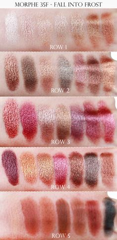 Morphe 35F swatches