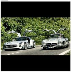 Old vs New #Mercedes