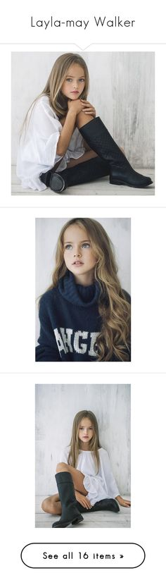 """Layla-may Walker"" by familylifex ❤ liked on Polyvore featuring kids, girls, pictures, kristina pimenova, people, babies, hair and photos"