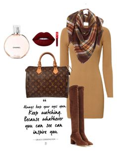 """Winter Is Coming"" by krishna-chudasama on Polyvore featuring A.L.C., Dolce&Gabbana, Louis Vuitton, Lime Crime and Chanel"