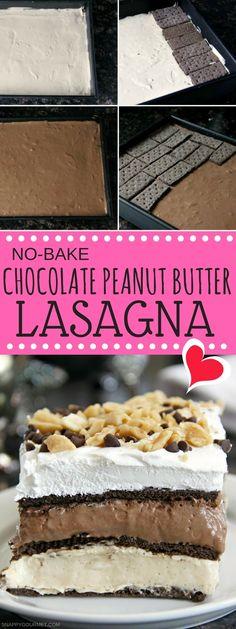 Chocolate Lasagna Recipe No Bake.No Bake Chocolate Peanut Butter Lasagna Recipe. No Bake Chocolate Peanut Butter Lasagna Recipe. No Bake Chocolate Lasagna Cake Dessert Recipe. Potluck Desserts, No Bake Desserts, Easy Desserts, Summer Desserts, Layered Desserts, Baking Desserts, Butter Cupcake Recipe, Cupcake Recipes, Baking Recipes