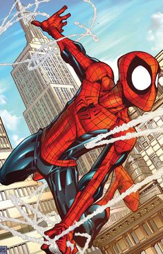Spider-Man by Patrick Scherberger & Neil Ruffino