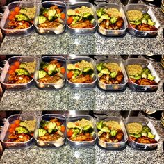 MEAL PREP FOR WEIGHT LOSS DETOXING CLEAN EATING (+playlist)