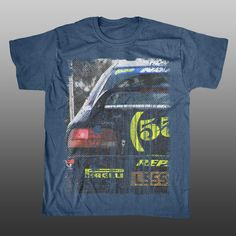 Subaru Impreza - Rallying - Mens Big Print T-shirt | Unlap | F1 Merchandise, F1 Gifts, BTCC Merchandise, Racing Car T-shirts, Formula 1 T-shirts