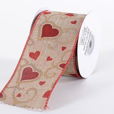 Designed for Valentin specially... Burlap  #Valentine #Ribbon 2-1/2 Inch x 10 Yards  http://ribbons.cheap/product/burlap-valentine-ribbon-2-12-inch-x-10-yards/