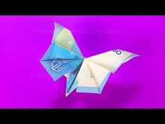 Paper Money Fold Butterfly - Make Money Gifts - Money Fold Wedding . How To Find Out, How To Make Money, Folding Money, Praise The Sun, Money Origami, Diy Origami, Brick Stitch, Disney Drawings, Cool Suits