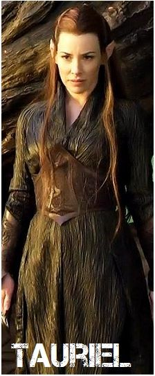 Evangeline Lilly as Tauriel in The Hobbit: The Desolation of Smaug. Legolas, Kili And Tauriel, Thranduil, O Hobbit, The Hobbit Movies, Fellowship Of The Ring, Lord Of The Rings, Lotr, Hobbit Desolation Of Smaug