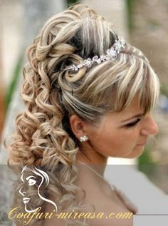 28 Best Coafuri Mireasa Images Wedding Updo Hairstyle Ideas
