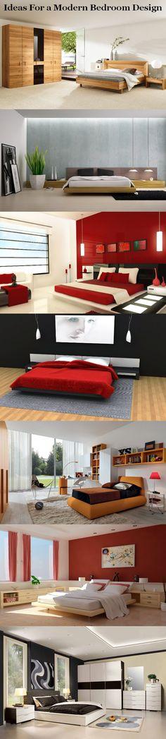 Ideas For a Modern Bedroom Design.