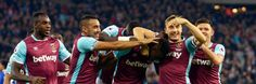 When you score your first goal - against Chelsea Mark Noble, West Ham, Chelsea, Soccer, Wrestling, Football, Goals, Sports, Lucha Libre
