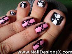 corset nail design