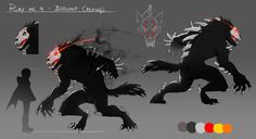 The Beowulf received an upgraded look for RWBY Vol. Dark Creatures, Magical Creatures, Fantasy Creatures, Dark Souls, Fanart Rwby, Rwby Grimm, Rwby Characters, Beast Creature, Fantasy Beasts