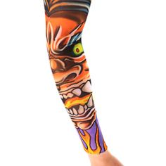 Buy Aashirwad Craft High Quality Stretchable Nylon Cloth Tattoo Art Arm Sleeves - Pack Of 2 by Aashirwad Craft , on Paytm, Price: