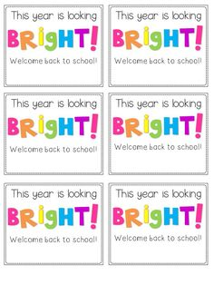 glow sticksfor first day of school   ... some space at the bottom of the glow stick label for your signature