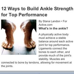 Ankle strengthening exercise - must do: http://m.active.com/fitness/Articles/12_Ways_to_Build_Ankle_Strength_for_Top_Performance.htm