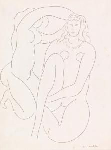 Henri Matisse - Arranging the Hair of Hérodiade (La Coiffure d'Hérodiade)