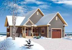 Cottage Country House Plan 65312 Elevation