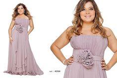 vestido de festa plus size 8