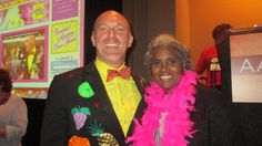 The happy healthcare host, Mr Divabetic attends the AADE Conference 2013 in Philadelphia, PA