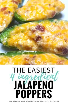 The Easiest Keto Jalapeno Poppers Recipe