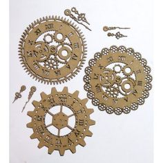 Art Supplies Hot Sale Steampunk Parts Gears Moveables Watchparts Vintage Cosplay S3 Collage Supplies