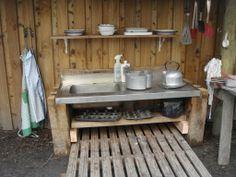 The Nest forest kitchen