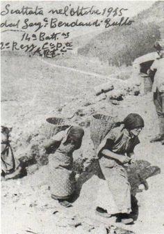 Portatrici carniche (portavano vettovagliamenti ai soldati al fronte)