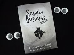 Sneaky Business vol. 2 Self-Published Comics Anthology Zine by rozihathaway on Etsy